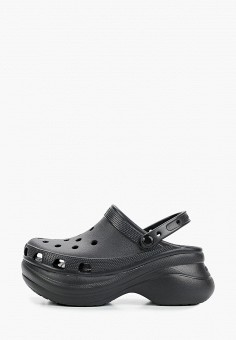 Сабо, Crocs, цвет: черный. Артикул: CR014AWIKCG8. Обувь / Резиновая обувь