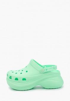 Сабо, Crocs, цвет: зеленый. Артикул: CR014AWIKCH0.