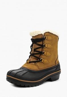 Ботинки, Crocs, цвет: коричневый. Артикул: CR014AWLGH40.
