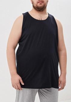 Майка, D555, цвет: черный. Артикул: D2000EMEOUG0. Одежда / Майки