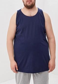 Майка, D555, цвет: синий. Артикул: D2000EMEOUI6. Одежда / Майки