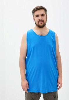 Майка, D555, цвет: синий. Артикул: D2000EMIAJP4. Одежда / Майки