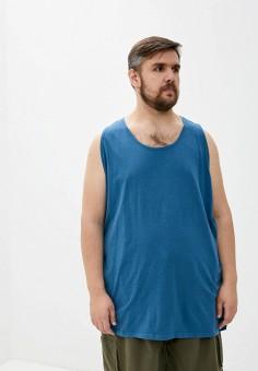 Майка, D555, цвет: синий. Артикул: D2000EMIAJQ9. Одежда / Майки