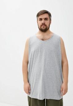 Майка, D555, цвет: серый. Артикул: D2000EMJGVP0. Одежда / Майки