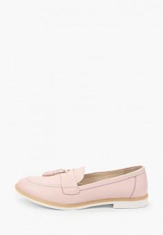 Лоферы, Dali, цвет: розовый. Артикул: DA002AWHZZS9. Обувь / Туфли / Лоферы