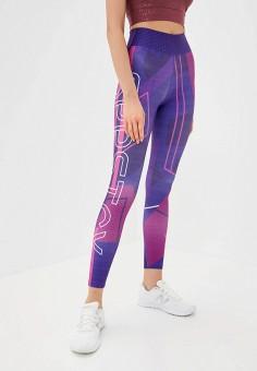 Леггинсы, Dali, цвет: фиолетовый. Артикул: DA002EWJULL7. Одежда / Брюки / Леггинсы