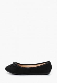 Балетки, Damerose, цвет: черный. Артикул: DA016AWIOVI5. Обувь / Балетки