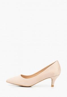 Туфли, Damerose, цвет: бежевый. Артикул: DA016AWIYFJ0. Обувь / Туфли / Лодочки