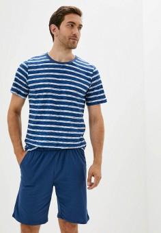Костюм домашний, Dansanti, цвет: синий. Артикул: DA052EMKCDC1. Одежда / Домашняя одежда