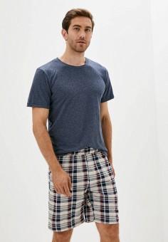 Костюм домашний, Dansanti, цвет: бежевый. Артикул: DA052EMKCDC2. Одежда / Домашняя одежда