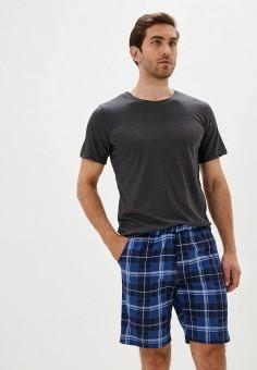 Пижама, Dansanti, цвет: серый, синий. Артикул: DA052EMKCDC3. Одежда / Домашняя одежда