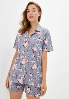 Пижама, Dansanti, цвет: серый. Артикул: DA052EWKCDF0. Одежда / Домашняя одежда / Пижамы