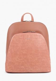Рюкзак, David Jones, цвет: розовый. Артикул: DA919BWIEBL1. Аксессуары / Рюкзаки / Рюкзаки