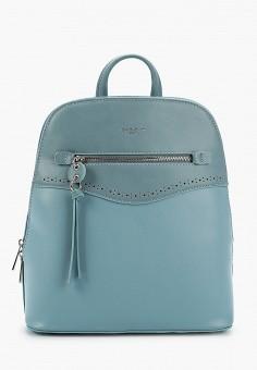 Рюкзак, David Jones, цвет: голубой. Артикул: DA919BWIVLT1. Аксессуары / Рюкзаки / Рюкзаки