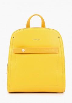 Рюкзак, David Jones, цвет: желтый. Артикул: DA919BWJCQM7. Аксессуары / Рюкзаки