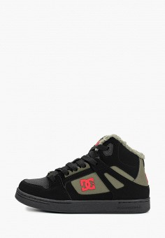 Кеды, DC Shoes, цвет: черный. Артикул: DC329ABFQEU8. Мальчикам / Спорт