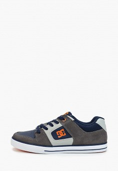 Кеды, DC Shoes, цвет: синий. Артикул: DC329ABFQEU9. Мальчикам / Спорт