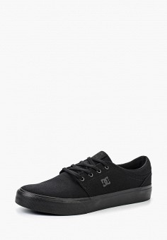 Кеды, DC Shoes, цвет: черный. Артикул: DC329AMHPM05.