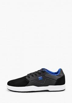 Кеды, DC Shoes, цвет: черный. Артикул: DC329AMIJDA6.