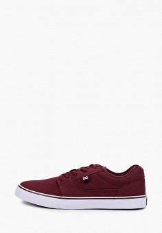 Кеды, DC Shoes, цвет: бордовый. Артикул: DC329AMIJDA9.