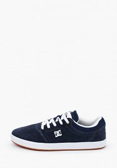Кеды, DC Shoes, цвет: синий. Артикул: DC329AMIJDB2.