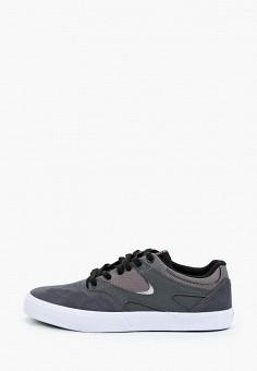 Кеды, DC Shoes, цвет: серый. Артикул: DC329AMIJDB6.