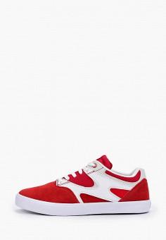 Кеды, DC Shoes, цвет: красный. Артикул: DC329AMIJDC1.