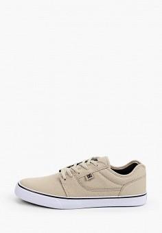 Кеды, DC Shoes, цвет: бежевый. Артикул: DC329AMIJDC3.