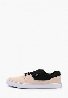 Кеды, DC Shoes, цвет: бежевый. Артикул: DC329AMIJDC4.