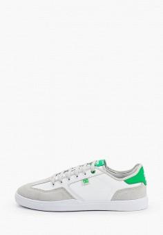 Кеды, DC Shoes, цвет: белый. Артикул: DC329AMIJDC6.