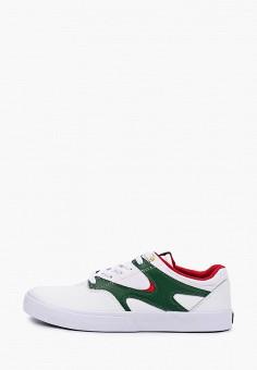 Кеды, DC Shoes, цвет: белый. Артикул: DC329AMIJDC7.