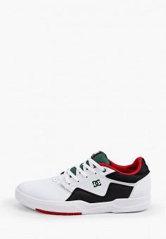 Кеды, DC Shoes, цвет: белый. Артикул: DC329AMIJDC8.