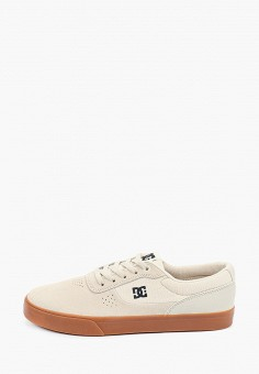 Кеды, DC Shoes, цвет: бежевый. Артикул: DC329AMIJDC9.
