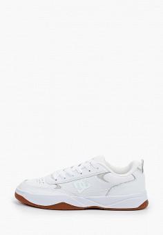 Кроссовки, DC Shoes, цвет: белый. Артикул: DC329AMIJDE6.