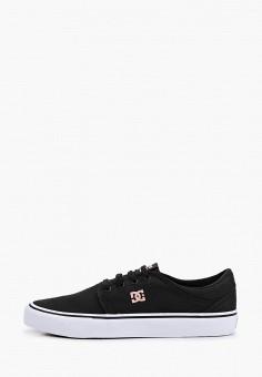 Кеды, DC Shoes, цвет: черный. Артикул: DC329AUIJDF3.