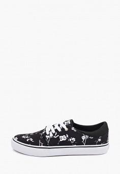 Кеды, DC Shoes, цвет: черный. Артикул: DC329AUIJDF6.