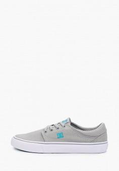 Кеды, DC Shoes, цвет: серый. Артикул: DC329AUIJDF8.