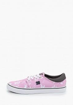 Кеды, DC Shoes, цвет: розовый. Артикул: DC329AUIJDG1.