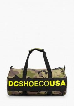 Сумка спортивная, DC Shoes, цвет: хаки. Артикул: DC329BUFPTQ1. Аксессуары / Сумки