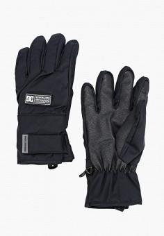 Перчатки горнолыжные, DC Shoes, цвет: черный. Артикул: DC329DMFPSR0. Аксессуары / Перчатки и варежки