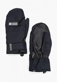Варежки горнолыжные, DC Shoes, цвет: черный. Артикул: DC329DMFPSR1. Аксессуары / Перчатки и варежки