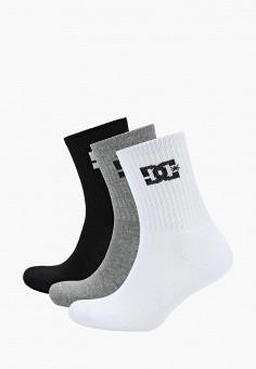 Комплект, DC Shoes, цвет: белый, серый, черный. Артикул: DC329FMCFEA4.