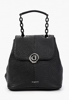 Рюкзак, Desigual, цвет: черный. Артикул: DE002BWHTVH6.