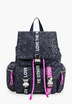Рюкзак, Desigual, цвет: черный. Артикул: DE002BWHTYA1.
