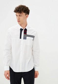 Рубашка, Desigual, цвет: белый. Артикул: DE002EMJXIA2. Одежда / Рубашки / Рубашки с длинным рукавом