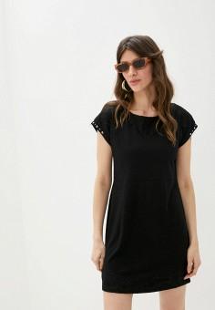 Платье, Desigual, цвет: черный. Артикул: DE002EWHUAF0.