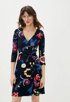 Платье, Desigual, цвет: синий. Артикул: DE002EWHUAF1.
