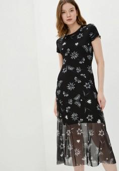 Платье, Desigual, цвет: черный. Артикул: DE002EWHUAS1.