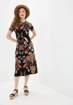 Платье, Desigual, цвет: черный. Артикул: DE002EWHUAT0.