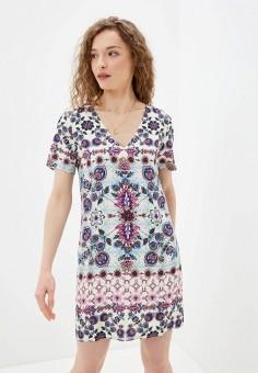 Платье, Desigual, цвет: мультиколор. Артикул: DE002EWHUAT3.